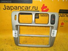 Консоль магнитофона на Mitsubishi Pajero Io H76W Фото 2