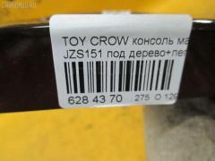 Консоль магнитофона Toyota Crown JZS151 Фото 3