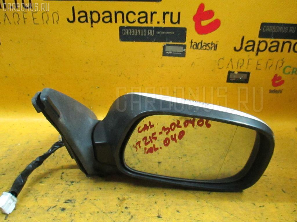 Зеркало двери боковой TOYOTA CALDINA ST215G Фото 1