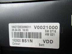 Спидометр VOLKSWAGEN GOLF V 1KBLX BLX Фото 1