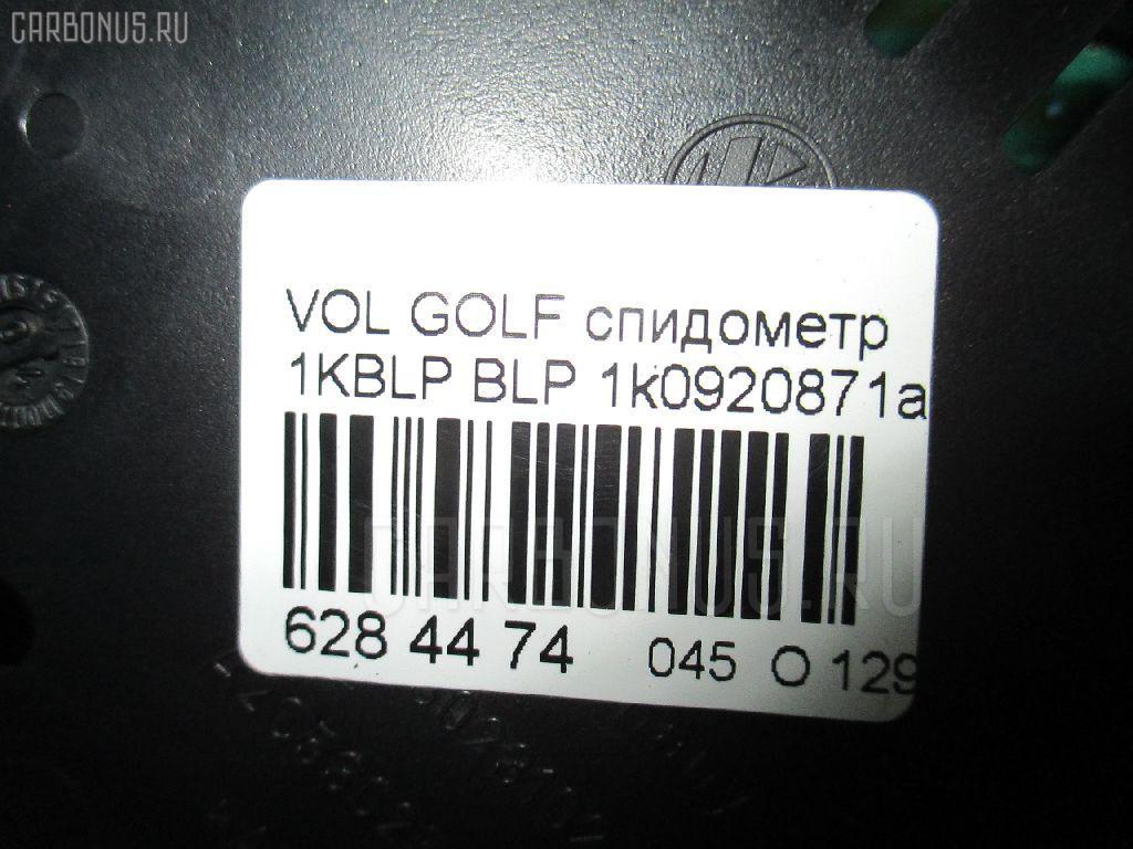 Спидометр VOLKSWAGEN GOLF V 1KBLP BLP Фото 4