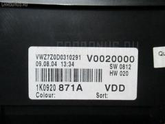 Спидометр Volkswagen Golf v 1KBLP BLP Фото 1