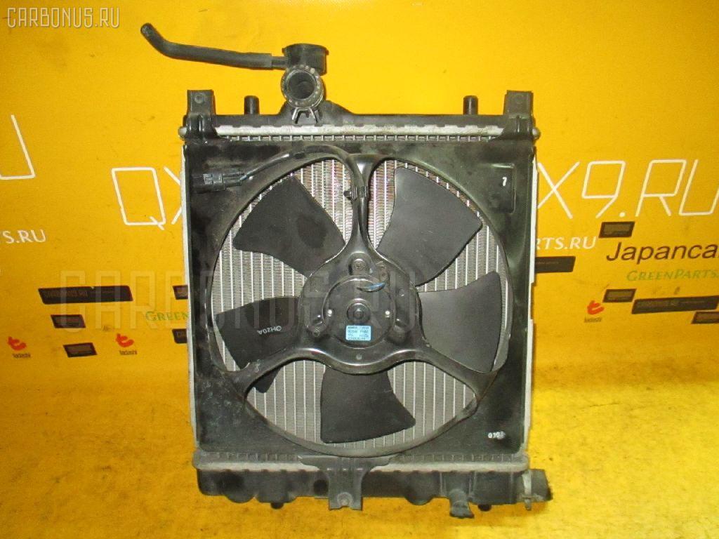 Радиатор ДВС SUZUKI WAGON R MH23S K6A. Фото 2