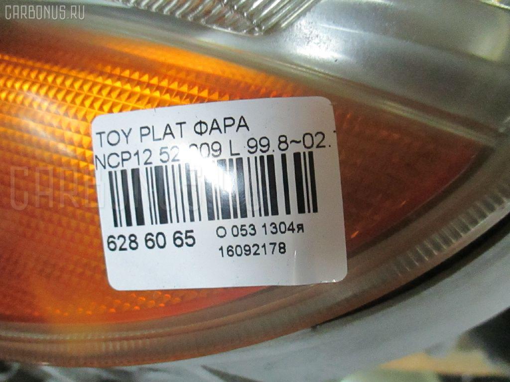 Фара TOYOTA PLATZ NCP12 Фото 3
