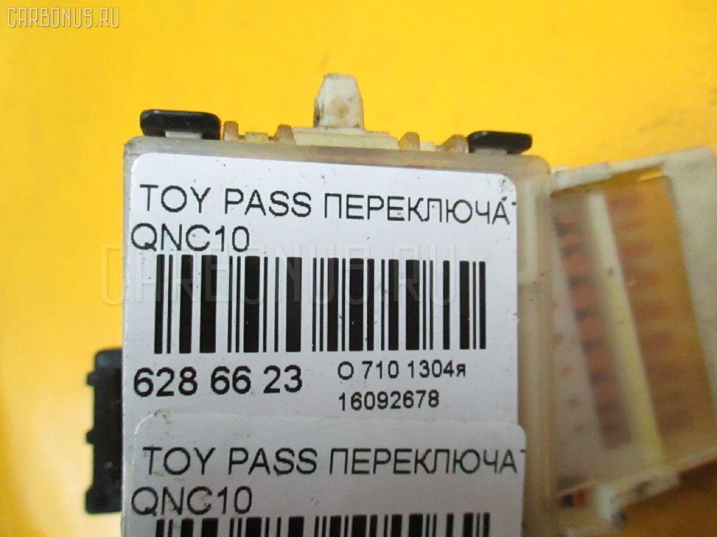 Переключатель поворотов TOYOTA PASSO QNC10 Фото 3