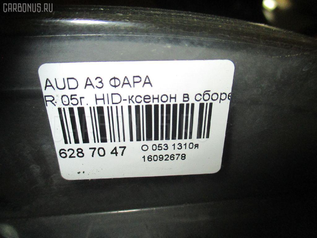 Фара AUDI A3 8PAXW Фото 4
