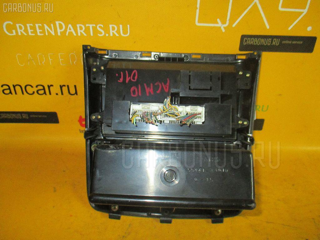 Блок управления климатконтроля TOYOTA GAIA ACM10G 1AZ-FSE Фото 2