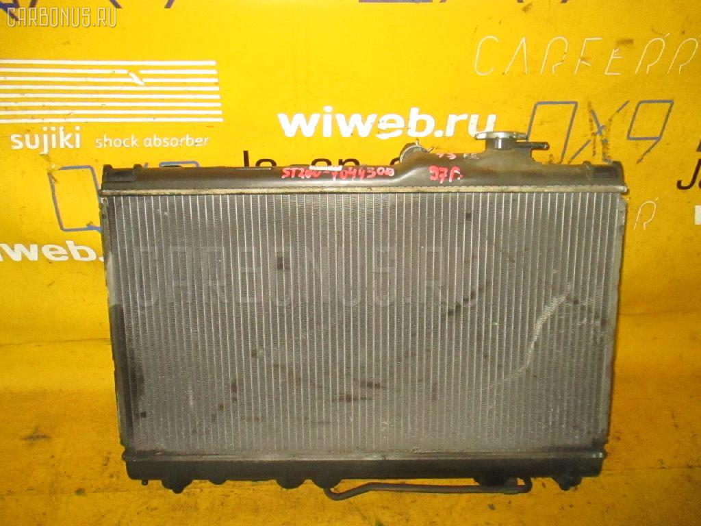 Радиатор ДВС TOYOTA ST200 4S-FE Фото 1