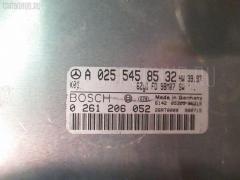 Блок EFI WDB2102612A736315 A0255458532 на Mercedes-Benz E-Class Station Wagon S210.261 112.911 Фото 3