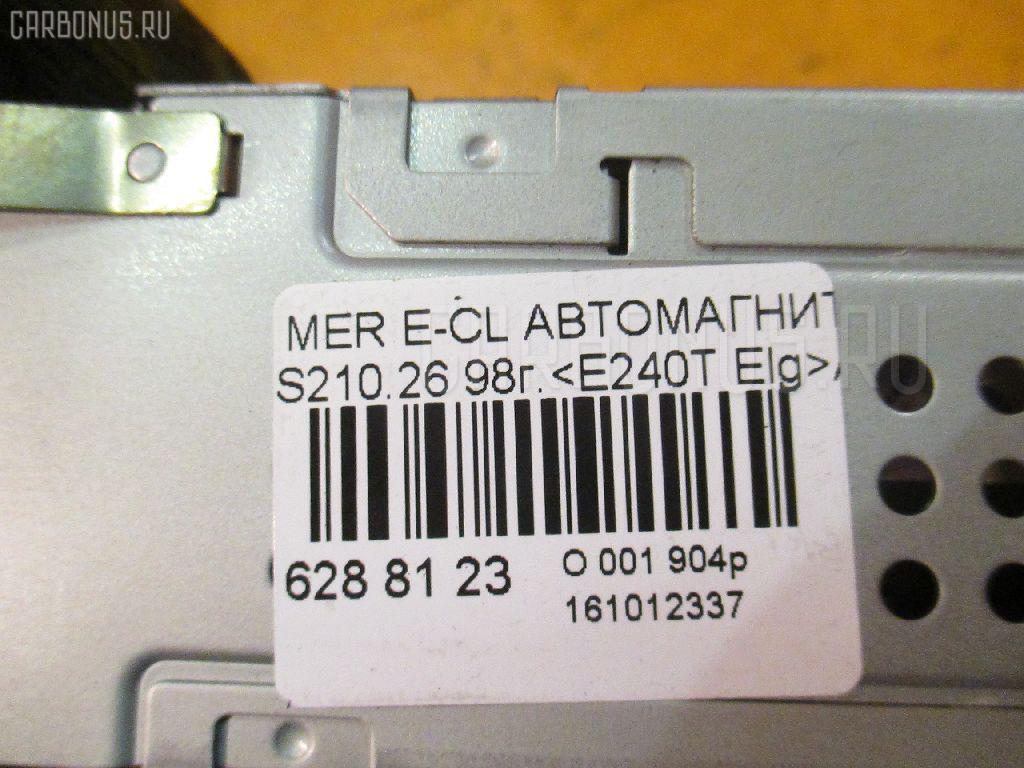 Автомагнитофон MERCEDES-BENZ E-CLASS STATION WAGON S210.261 Фото 4