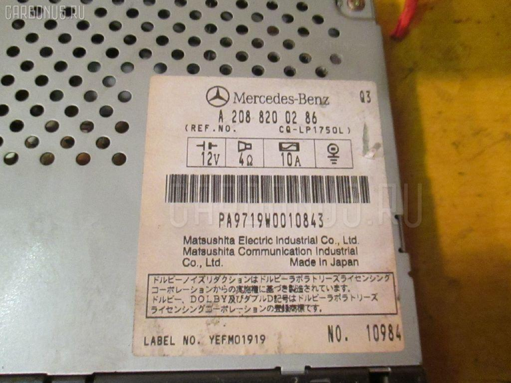 Автомагнитофон MERCEDES-BENZ E-CLASS STATION WAGON S210.261 Фото 2