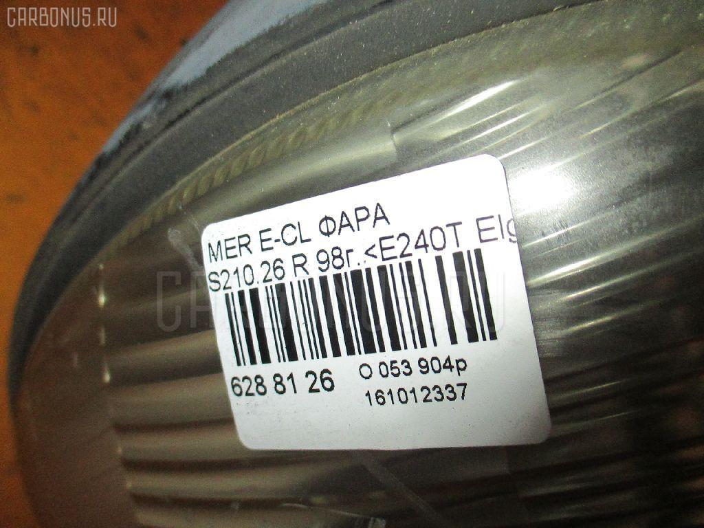 Фара MERCEDES-BENZ E-CLASS STATION WAGON S210.261 Фото 3