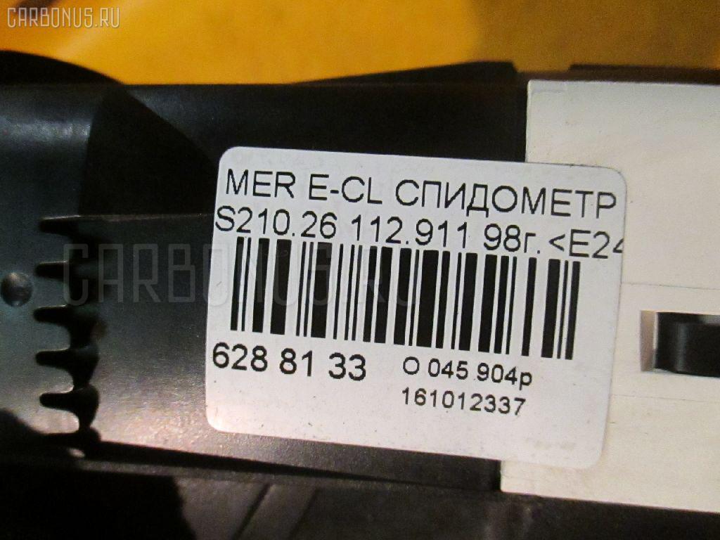 Спидометр MERCEDES-BENZ E-CLASS STATION WAGON S210.261 112.911 Фото 4
