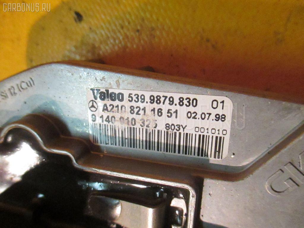 Регулятор скорости мотора отопителя MERCEDES-BENZ E-CLASS STATION WAGON S210.261 112.911 Фото 3
