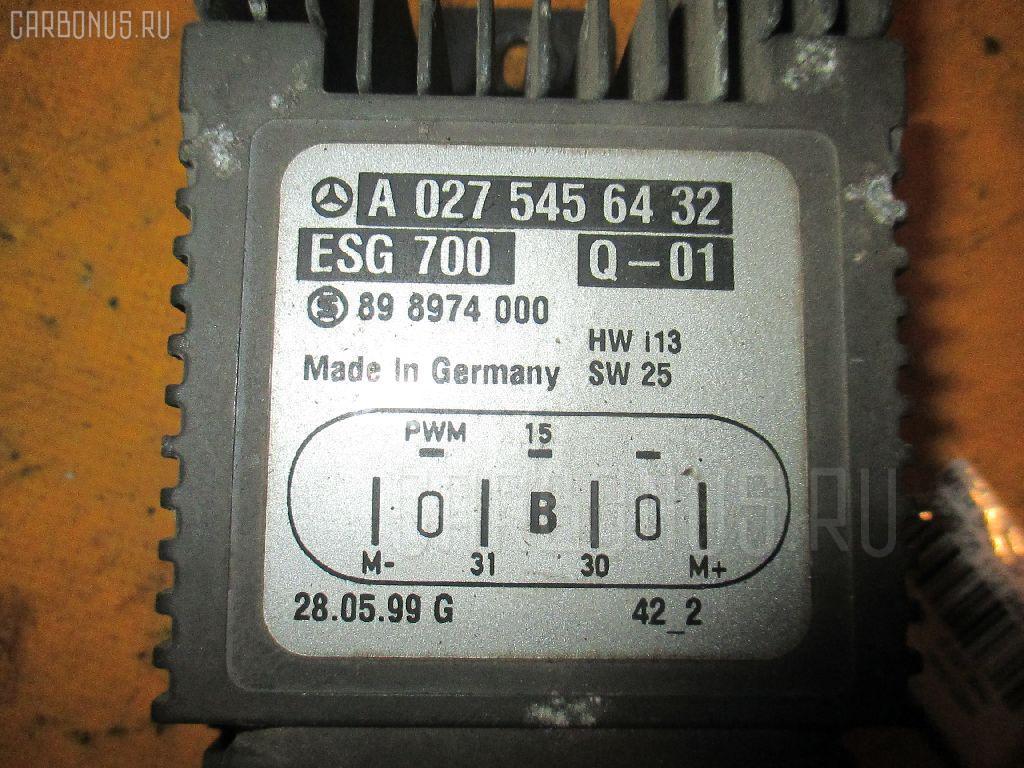 Блок управления вентилятором MERCEDES-BENZ S-CLASS W220.065 112.944 Фото 1