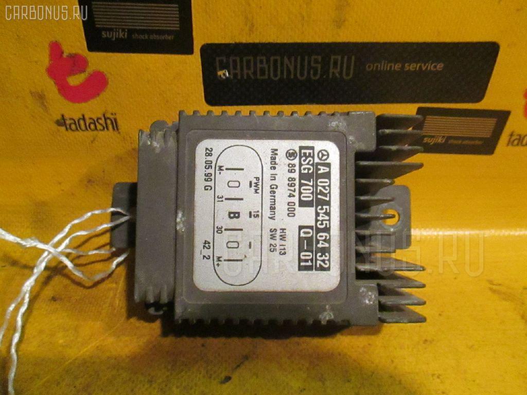 Блок управления вентилятором MERCEDES-BENZ S-CLASS W220.065 112.944 Фото 3