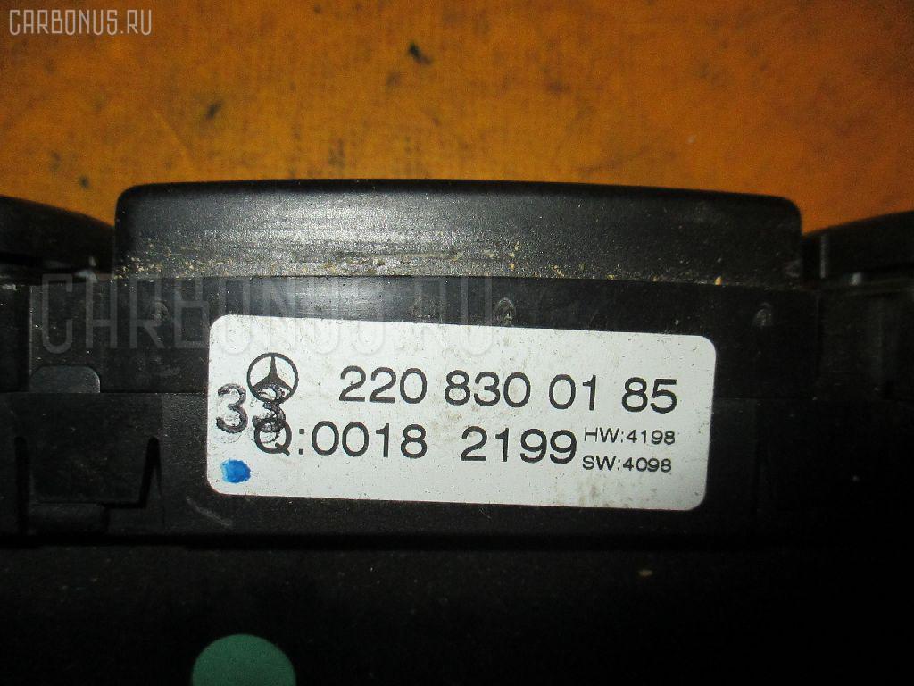 Блок управления климатконтроля MERCEDES-BENZ S-CLASS W220.065 112.944 Фото 1
