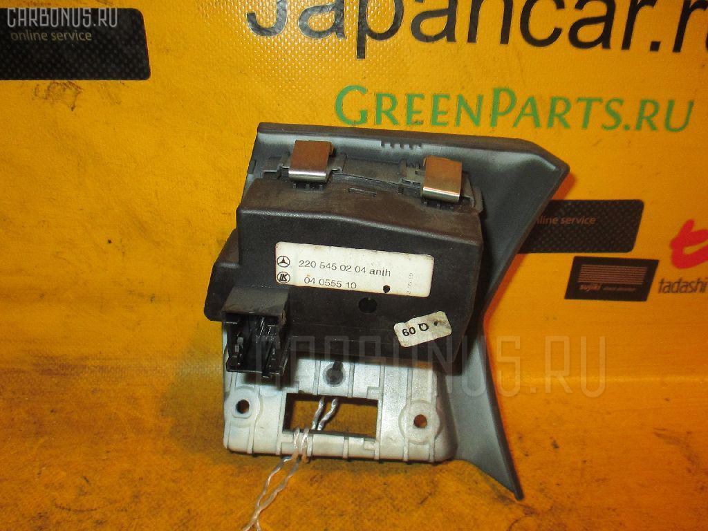 Переключатель света фар MERCEDES-BENZ S-CLASS W220.065 112.944 Фото 2