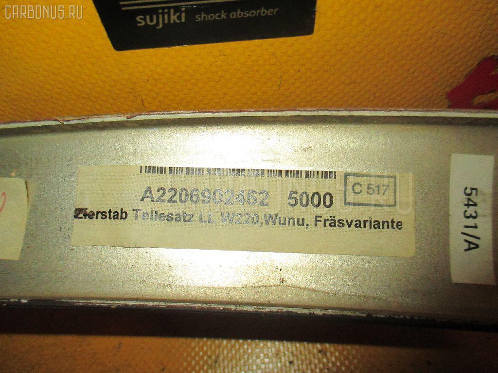 Обшивка салона MERCEDES-BENZ S-CLASS W220.065 Фото 3