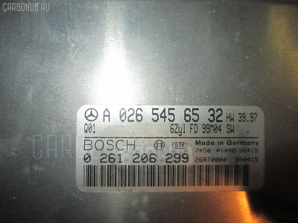 Блок EFI MERCEDES-BENZ S-CLASS W220.065 112.944 Фото 1