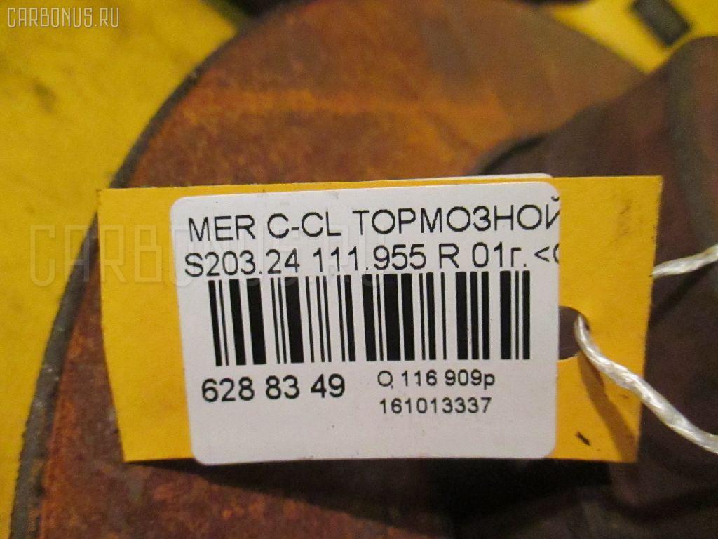 Тормозной диск MERCEDES-BENZ C-CLASS STATION WAGON S203.245 111.955 Фото 2