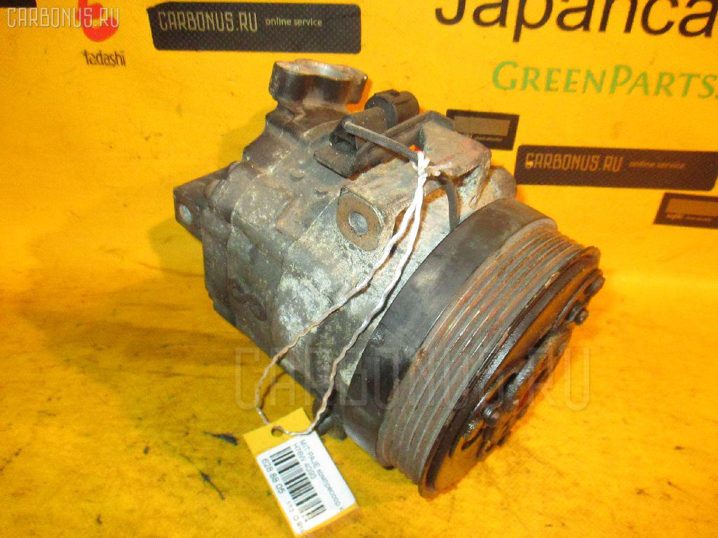 Компрессор кондиционера MITSUBISHI PAJERO IO H76W 4G93. Фото 8