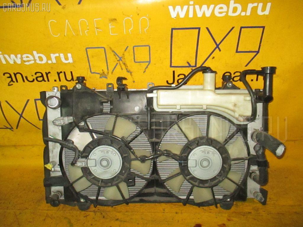 Радиатор ДВС TOYOTA PRIUS NHW20 1NZ-FXE. Фото 3