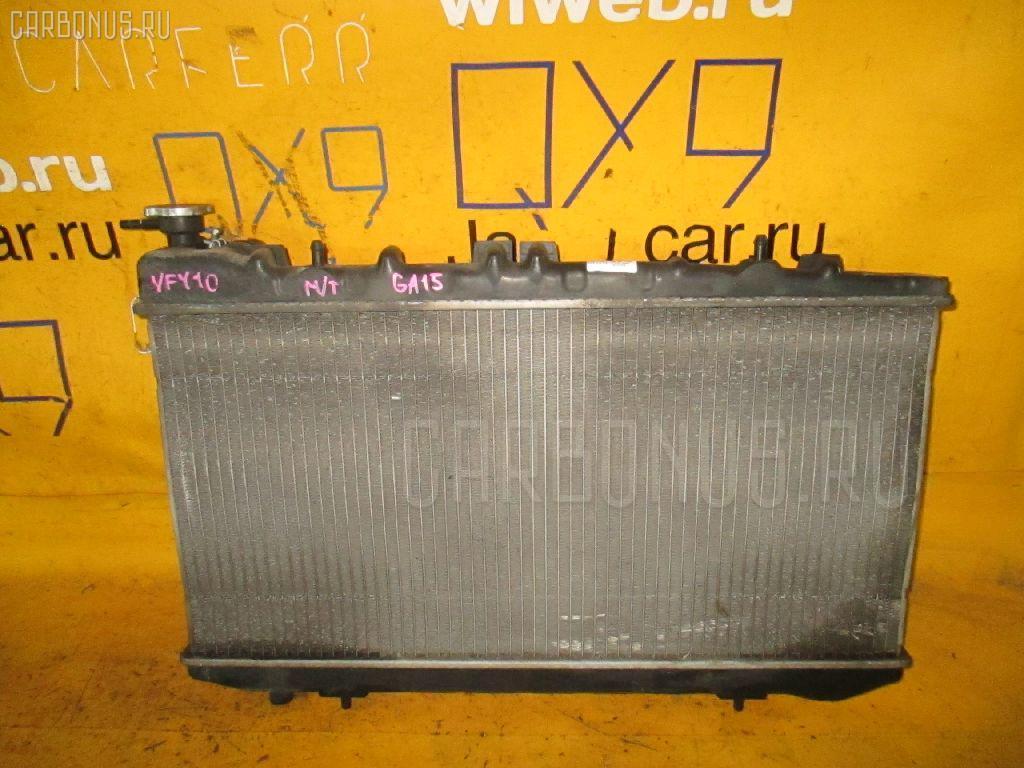 Радиатор ДВС NISSAN AD VAN VFY10 GA15DE. Фото 4