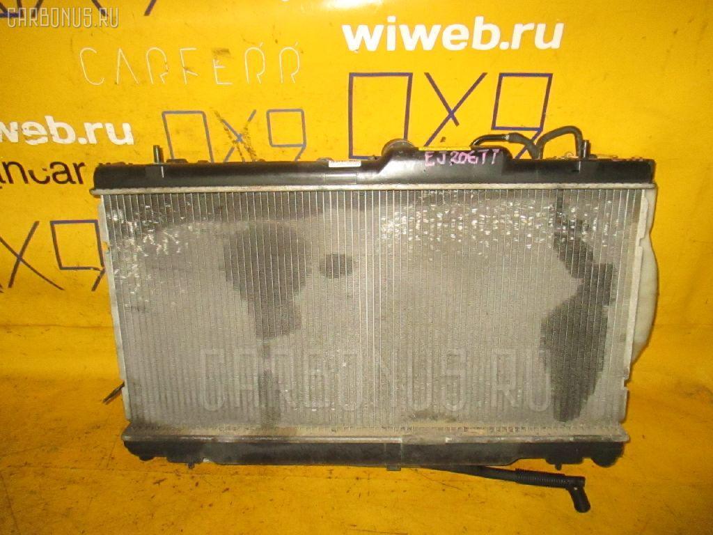 Радиатор ДВС SUBARU LEGACY WAGON BH5 EJ206-TT. Фото 7