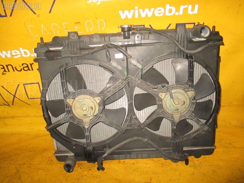 Радиатор ДВС NISSAN BASSARA JNU30 KA24DE. Фото 3