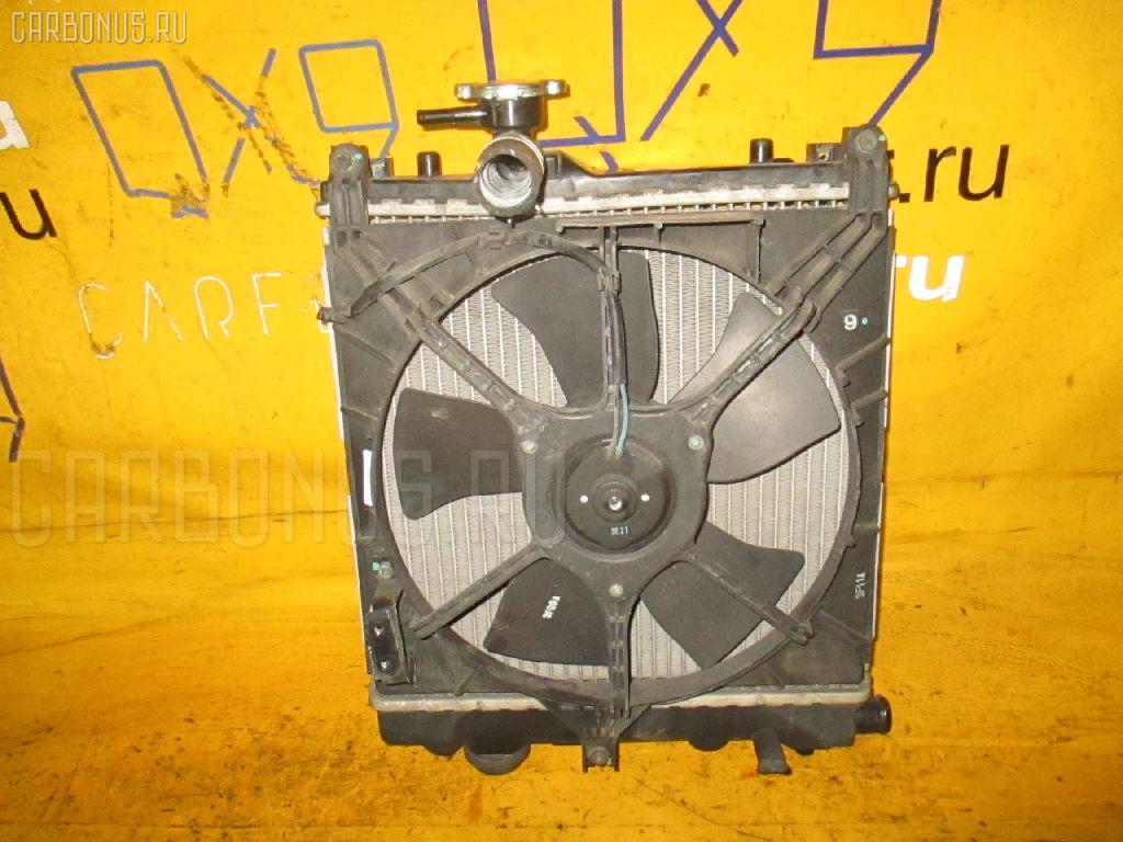 Радиатор ДВС SUZUKI WAGON R MC22S K6A. Фото 6