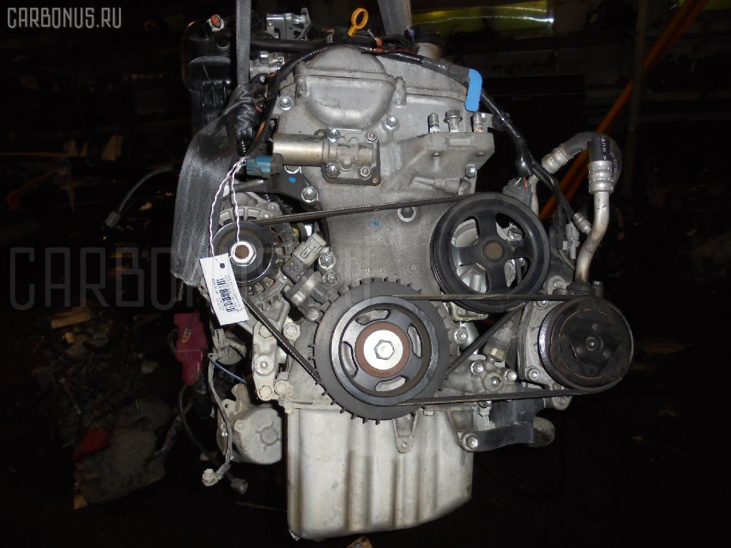 Двигатель NISSAN MOCO MG22S K6A. Фото 5