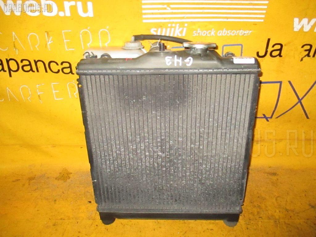 Радиатор ДВС HONDA HR-V GH3 D16A. Фото 8