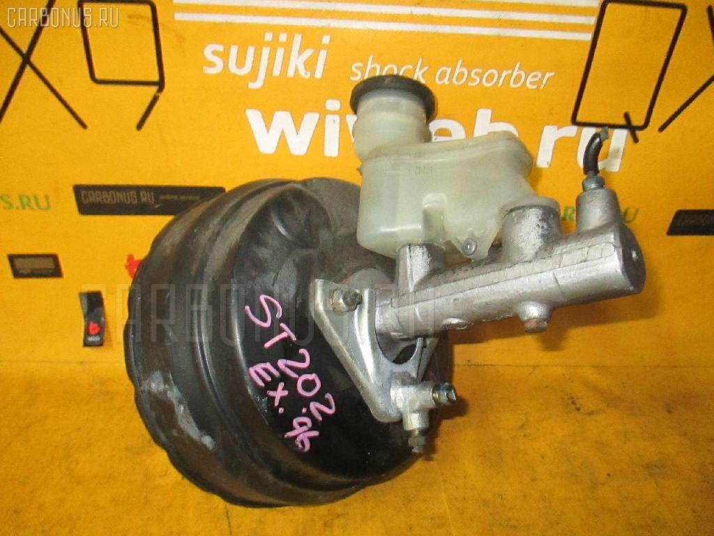 Главный тормозной цилиндр TOYOTA CORONA EXIV ST202 3S-FE. Фото 10