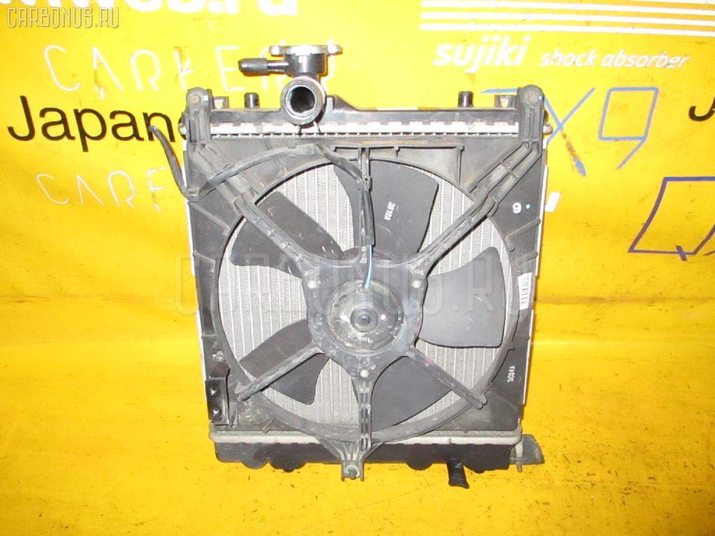 Радиатор ДВС SUZUKI WAGON R MC22S K6A. Фото 7