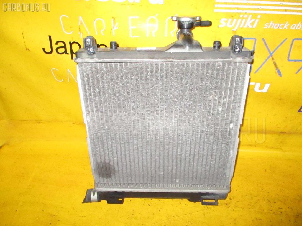 Радиатор ДВС SUZUKI WAGON R MC22S K6A. Фото 8