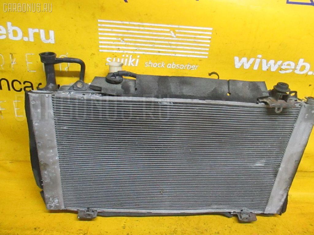 Радиатор ДВС TOYOTA PRIUS NHW20 1NZ-FXE. Фото 8