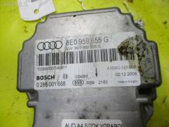 Блок управления air bag Audi A4 B7 Фото 3