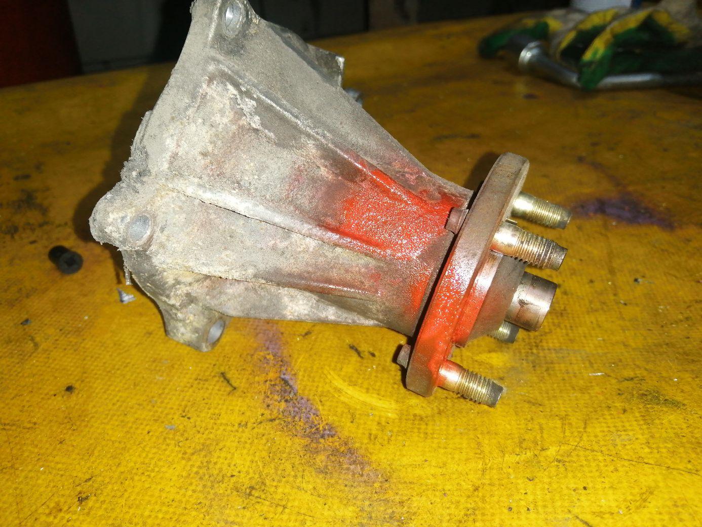 Помпа 16100-79025 на Toyota Chaser GX81 1G-GE Фото 1