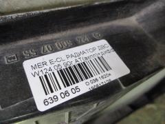 Радиатор ДВС WDB1240511B068396 A1245002402 на Mercedes-Benz E-Class W124.051 Фото 3