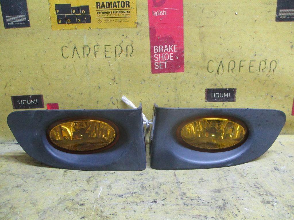 Туманка бамперная 114-22397 на Honda Fit GD1 Фото 1