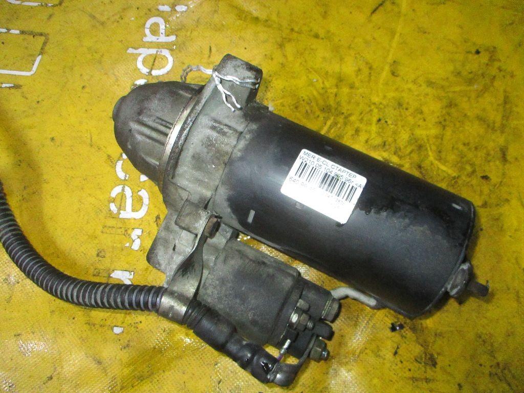Стартер A0051516601, A0041517001 на Mercedes-Benz E-Class W210.055 104.995 Фото 1