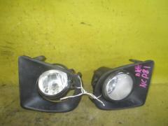 Туманка бамперная на Toyota Sienta NCP81G 0D-2