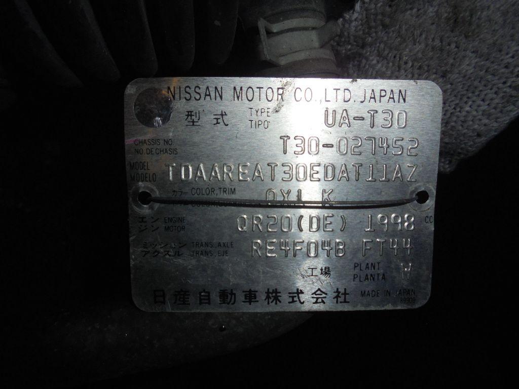 Двигатель на Nissan X-Trail T30 QR20DE Фото 1