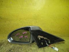 Зеркало двери боковой на Nissan Wingroad WFY11, Левое расположение
