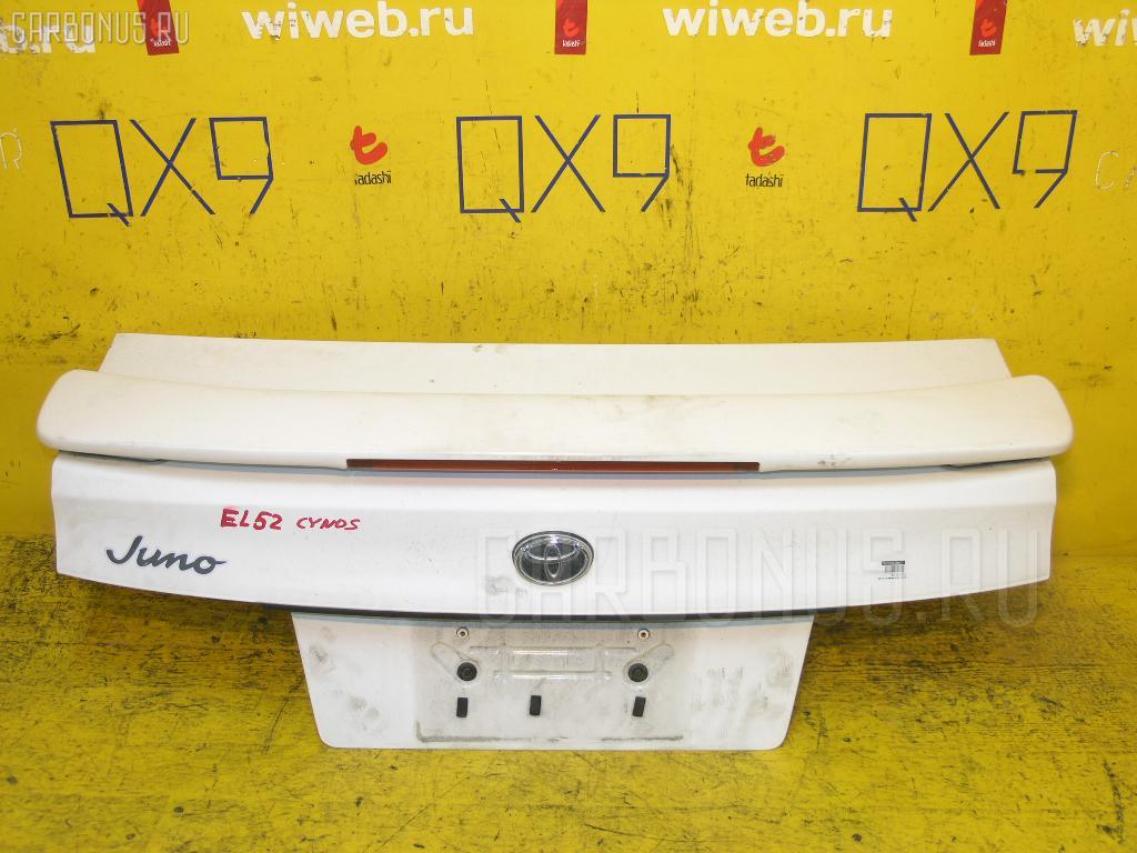 Крышка багажника TOYOTA CYNOS EL52. Фото 1