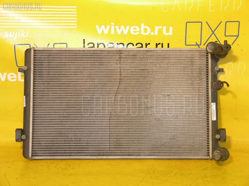 Радиатор ДВС VOLKSWAGEN GOLF IV 1JAPK APK. Фото 10