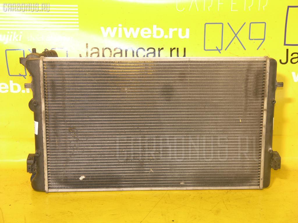 Радиатор ДВС VOLKSWAGEN GOLF IV 1JAPK APK. Фото 11