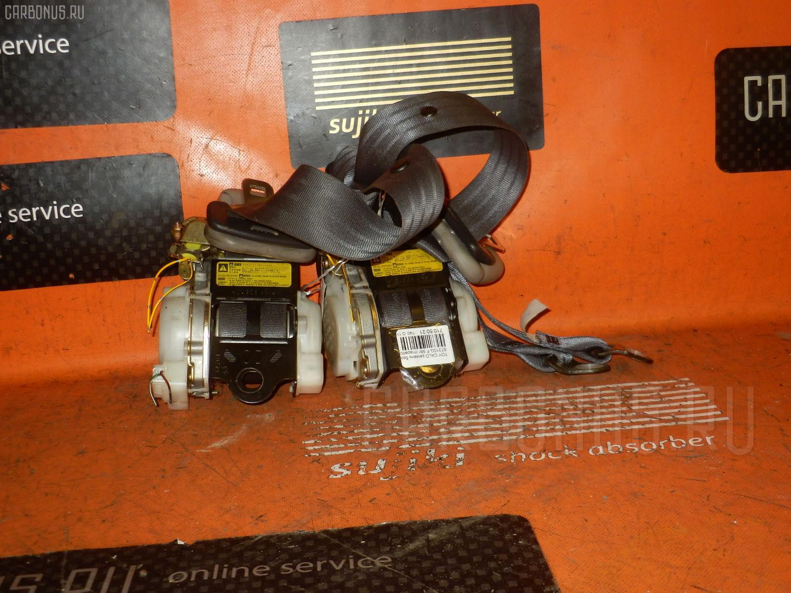 Ремень безопасности TOYOTA CALDINA ST210G. Фото 2