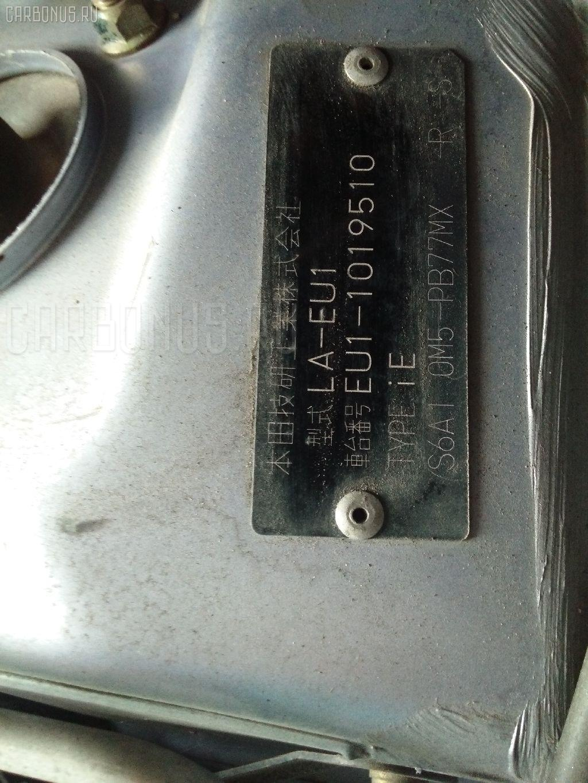 Заливная горловина топливного бака HONDA CIVIC EU1 D15B Фото 5